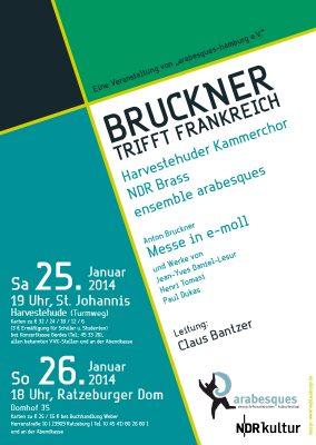 Bruckner trifft Frankreich
