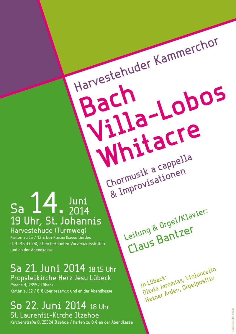 Bach, Villa-Lobos, Whitacre